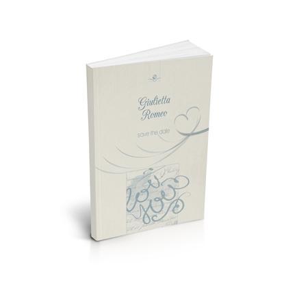libro bomboniera citazioni d'amore matrimonio cielo brossurato