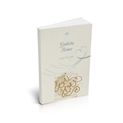 libro bomboniera citazioni d'amore matrimonio gold brossurato