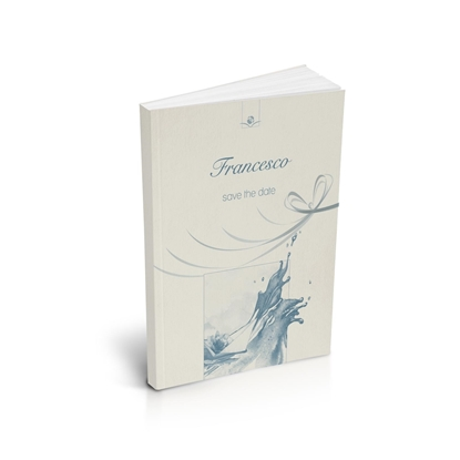 libro bomboniera citazioni spirituali battesimo cielo brossurato