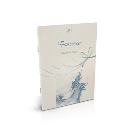libro bomboniera citazioni spirituali battesimo cielo spillato