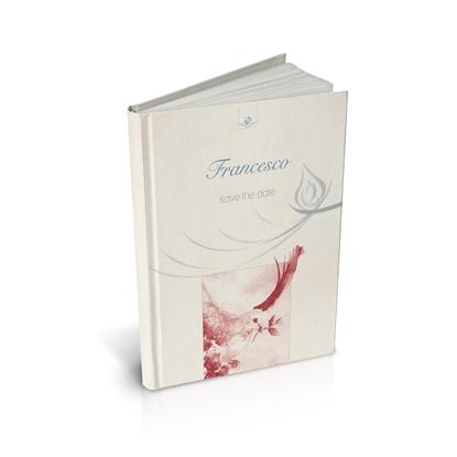 libro bomboniera citazioni spirituali cresima corallo cartonato