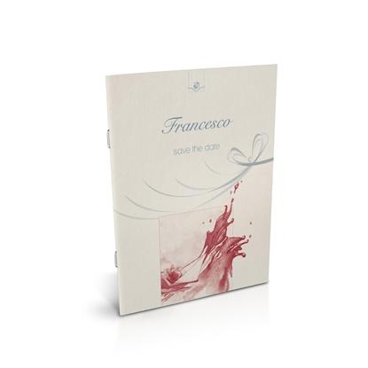 libro bomboniera citazioni spirituali battesimo corallo spillato