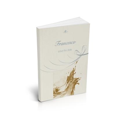 libro bomboniera citazioni spirituali battesimo gold brossurato