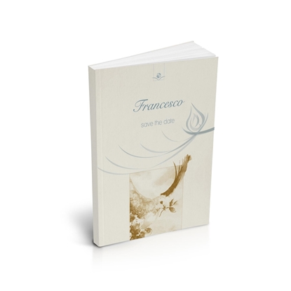 libro bomboniera citazioni spirituali cresima gold brossurato