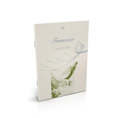 libro bomboniera citazioni spirituali cresima mela spillato