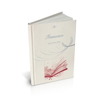 libro bomboniera citazioni per laurea umanistica corallo cartonato
