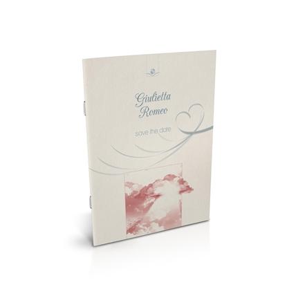 libro bomboniera citazioni spirituali matrimonio corallo spillato