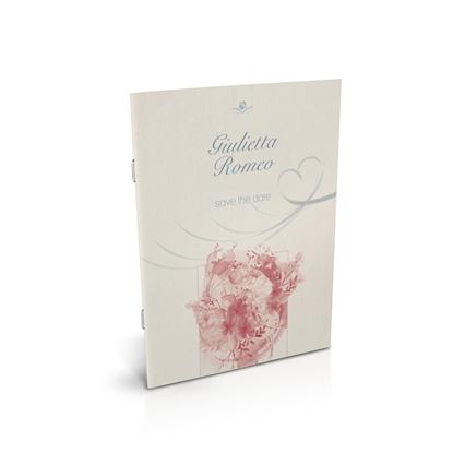 libro bomboniera arte corallo spillato matrimonio