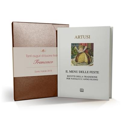 Il menu delle feste - cofanetto e libro