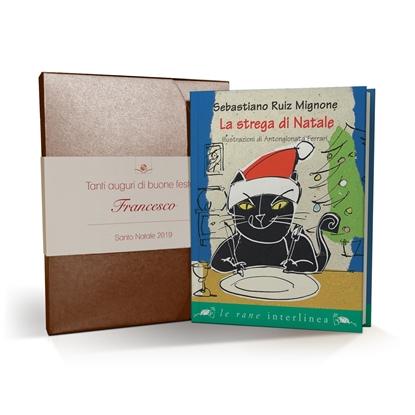 La strega di Natale - cofanetto e libro