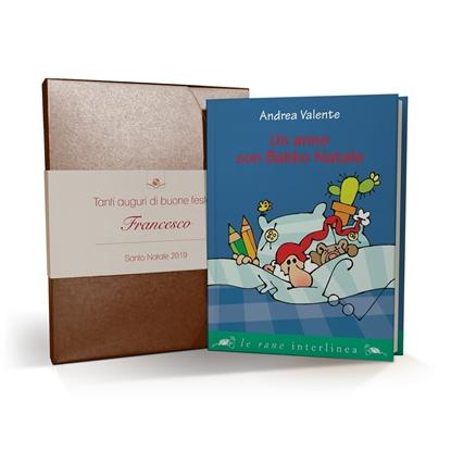 Un anno con Babbo Natale - cofanetto e libro